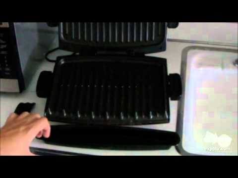 George Foreman Grp99 Grill Youtube
