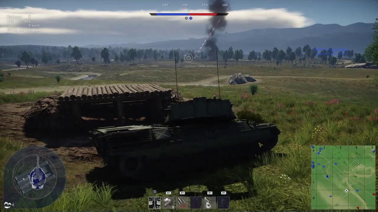 Download War Thunder Leopard A1A1 L/44 - 6 kills