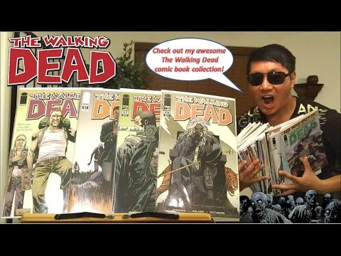 My Awesome The Walking Dead Comic Book Collection!