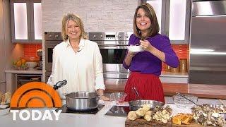 Martha Stewart Cooks Farro-Mushroom Soup | TODAY