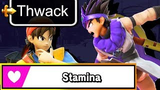 What Does THWACK Do in STAMINA Mode? -- Pointless Smash Ultimate Facts