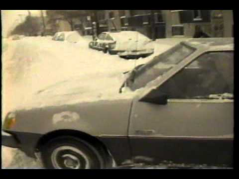 Retro Montreal ad from 1987: AM 60 Storm Watch