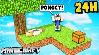 CZY PRZETRWAM Z BELLĄ 24H NA TEJ WYSPIE?! (Minecraft Skyblock) | Vito i Bella