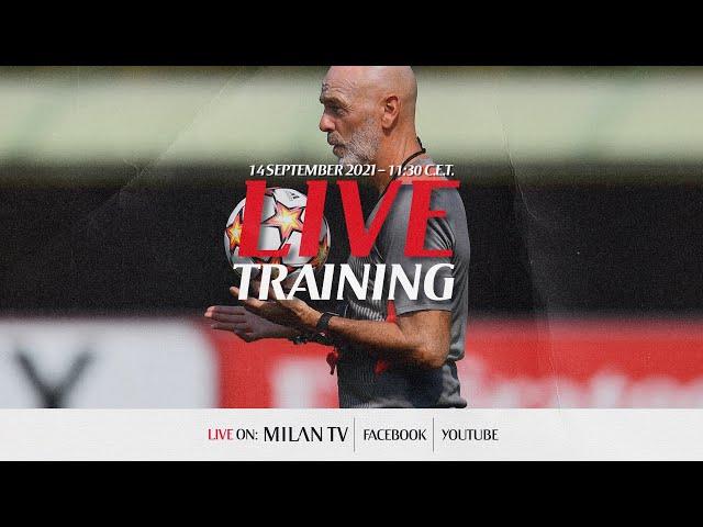 Liverpool v AC Milan | Live training session | Champions League
