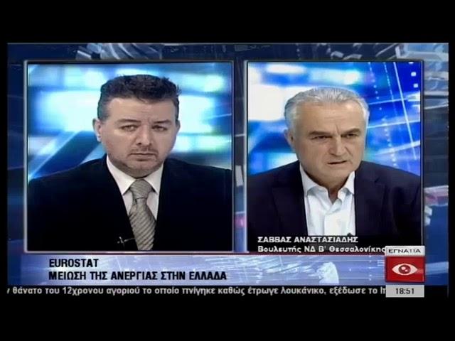 Ο Σ. Αναστασιάδης στο Κεντρικό Δελτίο Ειδήσεων 2.04.2019