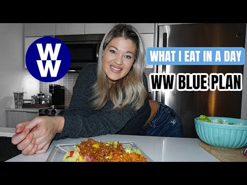 What I Eat In A Day | WW Blue Plan | Weight Watchers 2020