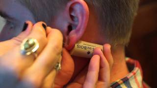 How to Pierce Your Ears at Home
