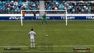FIFA 13: Real Madrid vs Manchester City (HD Full Online Gameplay)