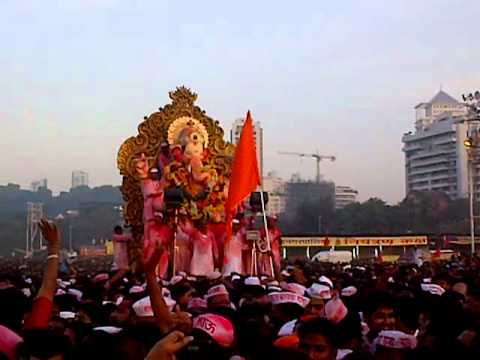 Lalbaug Cha Raja Visarjan 30th Sep 2012 - Chowpatty