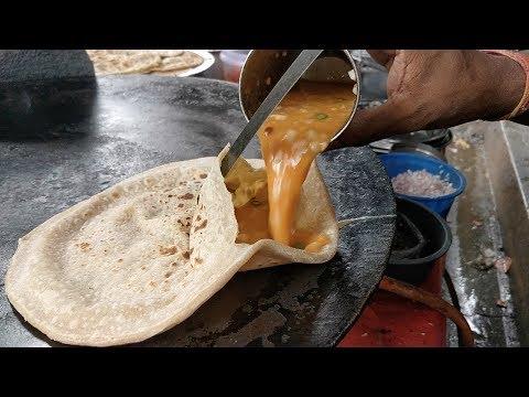 EGG STUFFED PARATHA   Anda Wala Paratha   Indian Street Food