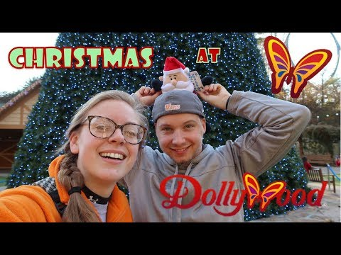 VLOG 66: Christmas At Dollywood (with Twin!)
