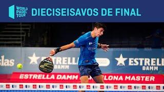 Resumen dieciseisavos de final (turno mañana) Estrella Damm Barcelona Master