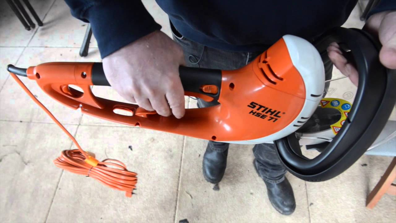 Stihl Hse71 Electric Ed Hedge Trimmer Cutter Lightweight And Quiet