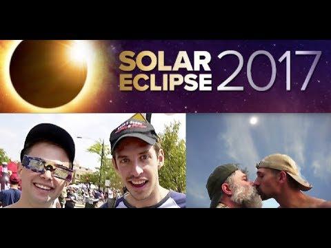 We Meet the Try Guys, Zac & Keith , Under the Eclipsed Sun! (Casper Wyoming 2017)