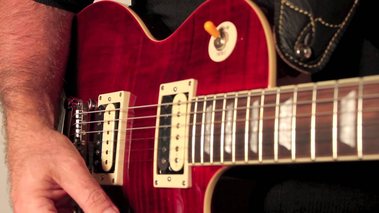 epiphone introduces the slash rosso corsa les paul standard outfit youtube. Black Bedroom Furniture Sets. Home Design Ideas