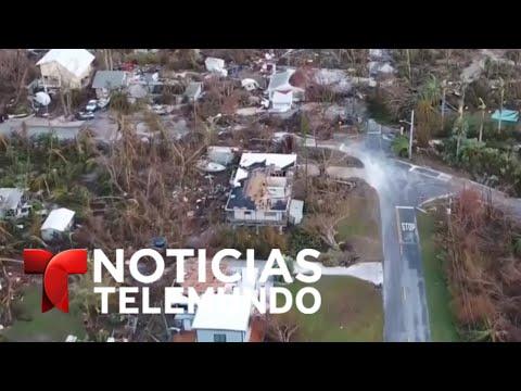Devastación total en los Cayos de la Florida | Noticiero | Noticias Telemundo