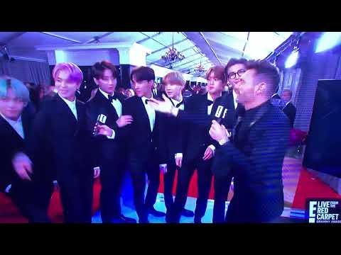 BTS Grammy Awards 2019 Red Carpet