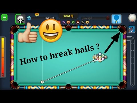 Thumbnail: How to break balls ? - 9 Ball Pool + Berlin Platz - I am the Best LOL - Miniclip 8 ball pool
