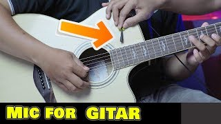Review Mic GITAR !!! Seruni AUDIO SEM-01 Microphone Instrument BASS GUITAR SAXOPHONE ACOUSTIC