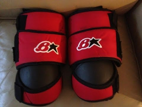 New Custom Brians Goalie Knee Pads Unboxing
