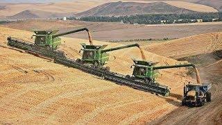 COMBINE HARVEST 2013 | Claas | New Holland | Fendt | John Deere | Tractors | AgrartechnikHD