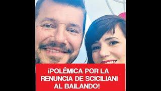 ¡Polémica por la renuncia de Siciliani al Bailando!