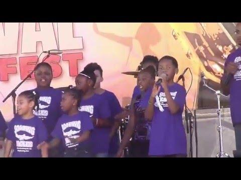 Black Heritage Festival 2016 in Tampa Florida - Walton Academy Students
