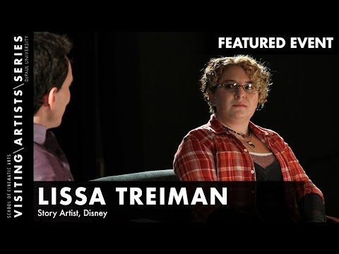 Story Artist, Lissa Treiman of Disney Feature Animation