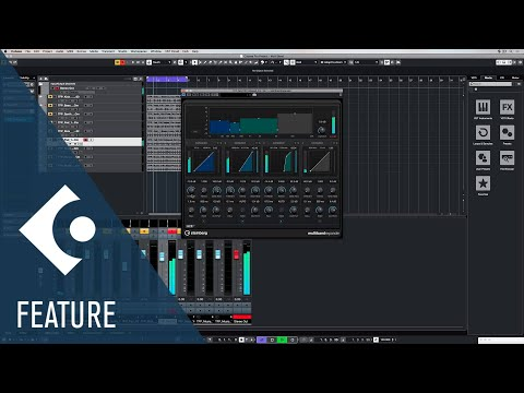 Multiband Expander | Effects and Plug ins Included in Cubase