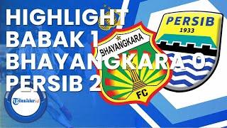 Highlight Babak 1 :  Bhayangkara Fc Vs Persib Bandung (0-2) | Liga 1 2021