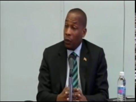 Timothy Antoine - New ECCB Governor