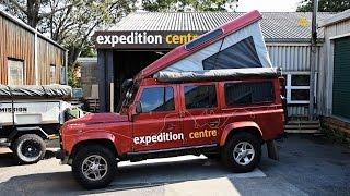 Land Rover Defender Pop Top Camper Conversion