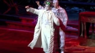 видео Шоу Zarkana (Заркана) в цирке дю солей