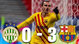 Ferencvaros vs Barcelona [0-3], Champions League, Group Stage 2020/21 - MATCH REVIEW