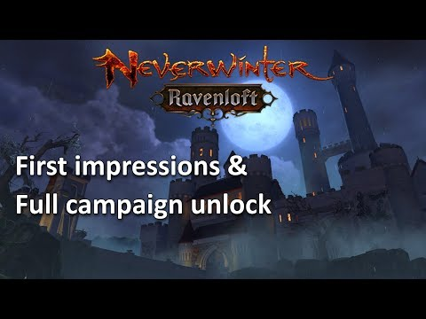 Neverwinter: First Impressions & play through RavenLoft mod 14