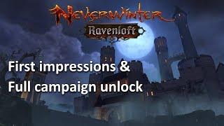 Neverwinter: First Impressions & play through RavenLoft mod 14