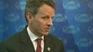 Geithner Says Global Economy Needs a `Strong' Dollar
