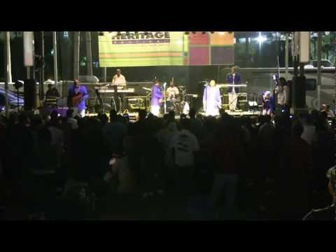 Con Funk Shun preforms at the 2013 Tampa Bay Black Heritage Old School Saturday Street Festival