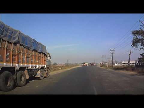 Trip to Shantiniketan Via NH-2 and NH 2B Dashcam Video