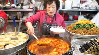 Korean Street Food - TOP 4 STREET FOOD of the 115-year-old Gwangjang Market in Seoul