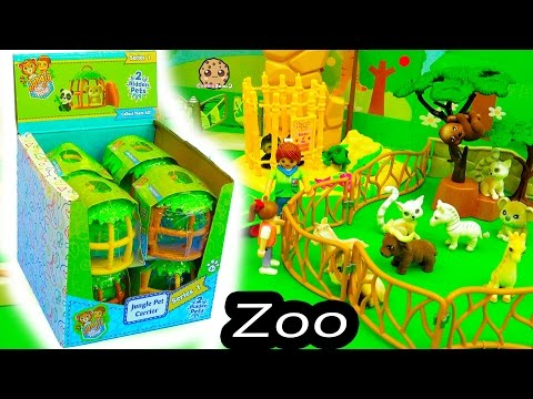 Thumbnail: Fuzzy Jungle In My Pocket Surprise Animal Blind Bag Cages At Playmobil Toy Zoo