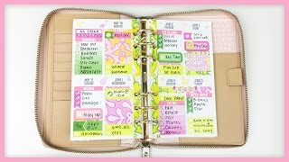 Plan With Me // New Personal Kit! (Sew Much Crafting Inserts)