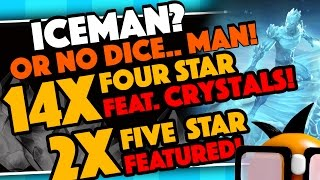 Yo Yo Yo! Going for ICEMAN this time and hoping to get him in eithe...