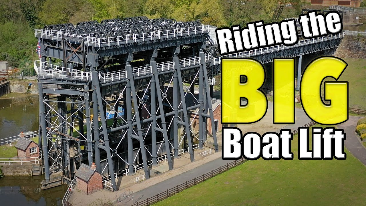 The Anderton Boat Lift as you've NEVER SEEN IT BEFORE!