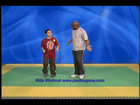 Kids Workout With Paul Eugene
