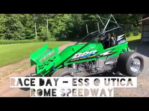 Race Day - Dustin Purdy Racing @ Utica Rome Speedway - Empire Super Sprints - June 23rd, 2019