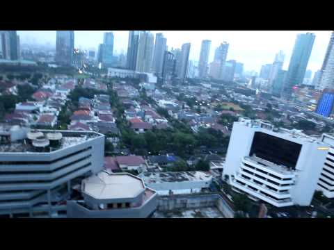 Sekitar Kuningan Jakarta di Sore Hari