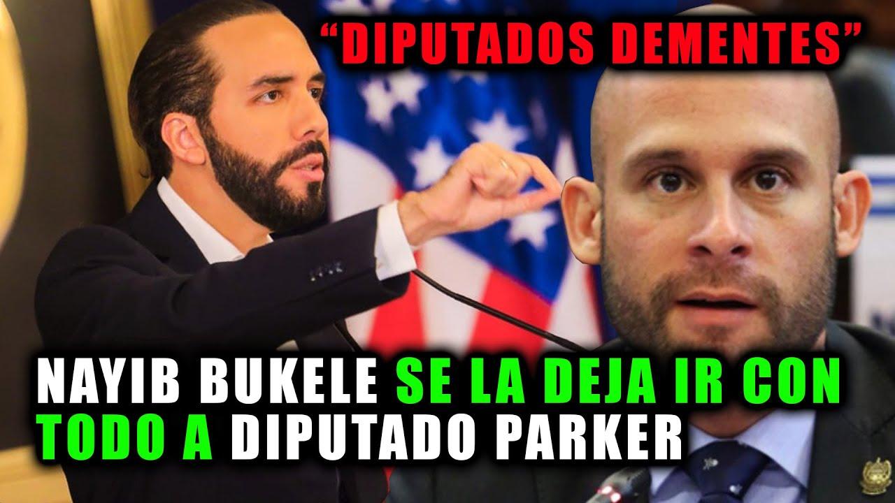 Nayib Bukele se la deja ir con TODO al diputado PARKER | El Agüevón del año