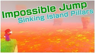 IMPOSSIBLE JUMP - PILLARS OF THE SINKING ISLAND | Super Mario Odyssey