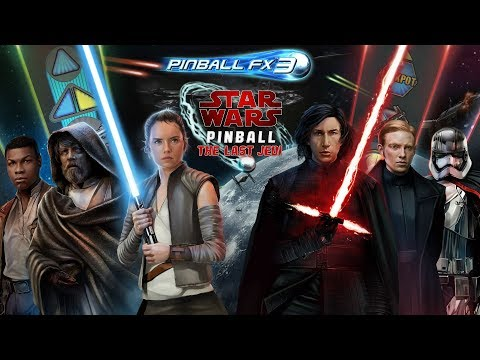 Star Wars™ Pinball: The Last Jedi – Two Exciting New Pinball FX3 Tables From Zen Studios